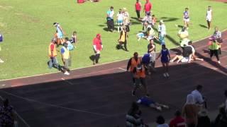 Girls 200m Finals - Tonga Inter-Collegiate Athletics