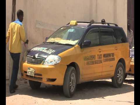 WorldLeadersTV: SOMALIA: NEW MOGADISHU TAXI COMPANY NOW OPERATING
