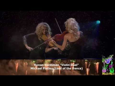 "Michael Flatley ""Lord of the Dance"" Song by Ronan Hardiman ""Violin Duel"""