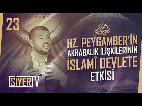 Hz. Peygamber'in (sas) Akrabaları ve Bu Akrabalık İlişkilerinin İslamî Devlete Etkisi (23. Ders)