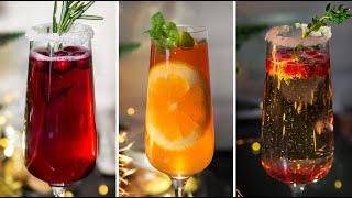 коктейли с шампанским // Лучшие алкогольные рецепты на новый год 2019