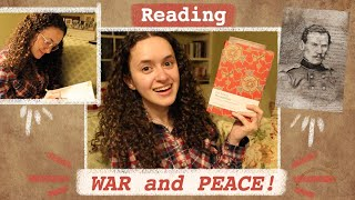 Reading War And Peace...A Tolstoy Love Fest!!! W&P ep. 2 // #dickensortolstoy 2021