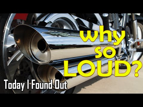 Why Are Harley Davidson Motorcycles So Loud?