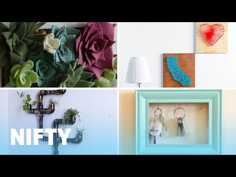 5 Amazing DIY Wall Decorations