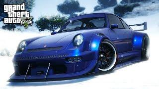 GTA Online: Fully Upgraded COMET RETRO CUSTOM Sports Car Showcase! (GTA 5 Import/Export DLC)