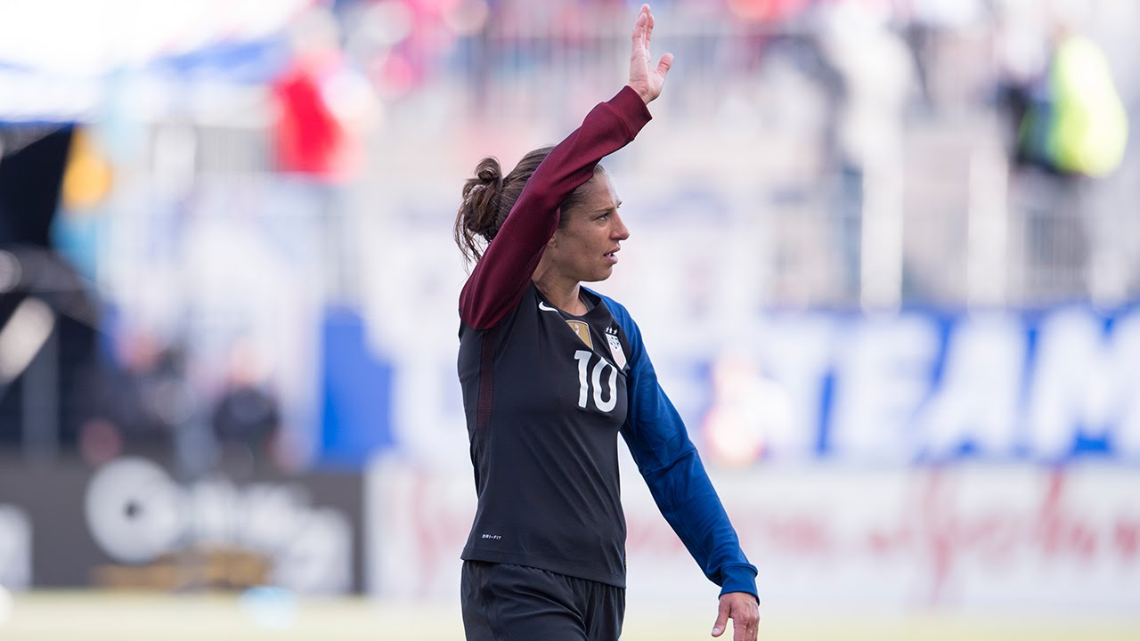713cdca1c Carli Comes Home  WNT vs. Colombia - YouTube