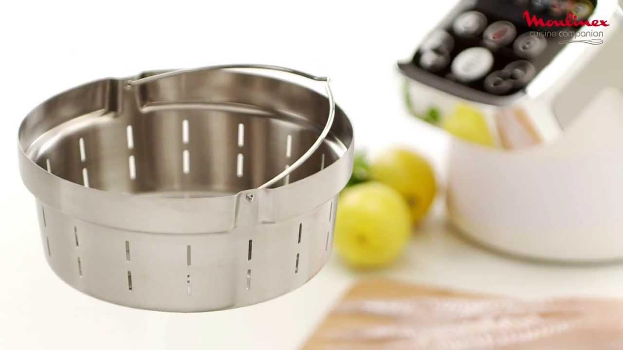 cuisine companion accesorio cesta vapor youtube. Black Bedroom Furniture Sets. Home Design Ideas