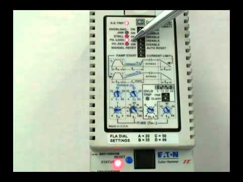 hqdefault eaton cutler hammer s801 soft start fault indication youtube eaton soft starter wiring diagram at bakdesigns.co