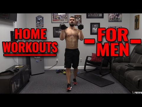 Home Workouts For MEN At Home [Dumbbells Only] - YouTube