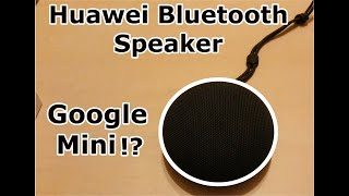Huawei CM51 Bluetooth speaker with IP5X - Unboxing