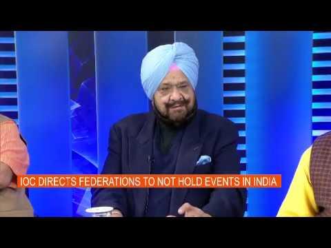 Upfront with Karan Thapar - Anti-Pak sentiment damaging India's sporting interests- Part 1