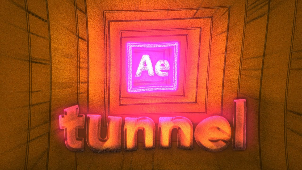 Tunnel animation After Effects tutorial