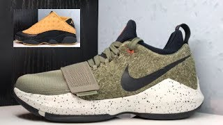 Nike PG 1 UNDFTD Undefeated Elements Sneaker Detailed Review  + Look at June 2017 Releases