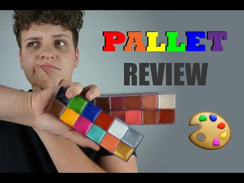 Ccbeauty Grease Paints Pallet Es And Review