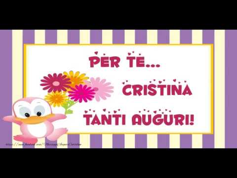 Tanti Auguri Cristina Youtube