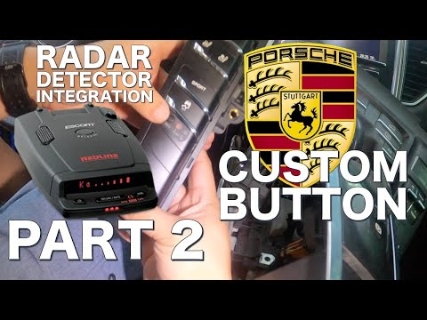 HOW TO REMOVE CENTER CONSOLE ON PORSCHE MACAN DIY FOR HARDWIRE RADAR INSTALL
