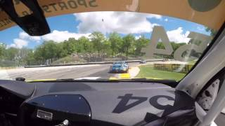 Road America Conti Crash