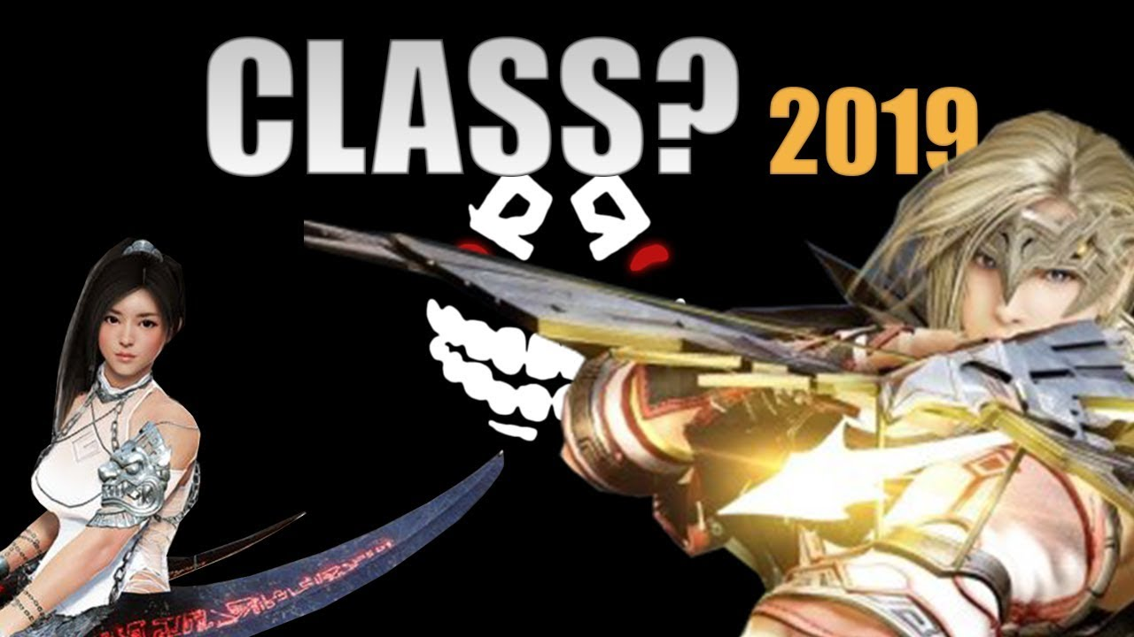 Bdo Best Class 2019 What Class to play in 2019 ? Black Desert Online   YouTube