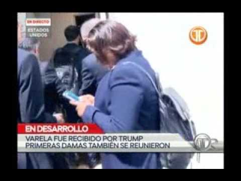 Telemetro reunión del presidente Juan Carlos Varela y Trump desde Washington