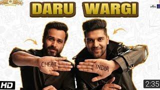 Daaru Wargi Full Video Song | CHEAT INDIA | Guru Randhawa Kudui Daaru Wargi Video Song | Daru Wargi