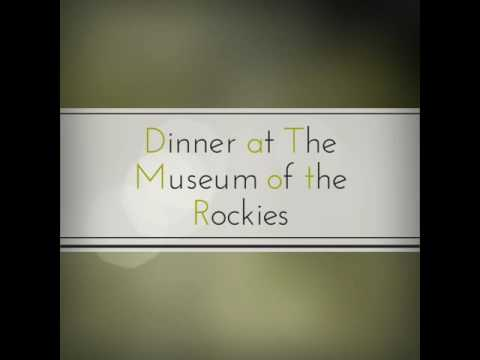 Dinner at the Museum of the Rockies, Dec 10, 2016
