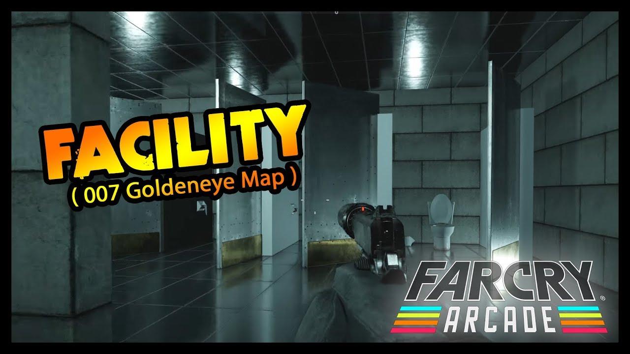 FACILITY GAMEPLAY / GOLDENEYE MAP (Far Cry Arcade) on goldeneye dam map, goldeneye surface 2 map, goldeneye n64 xbox minecraft map,