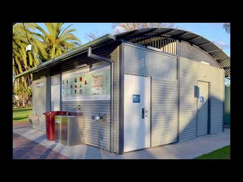 Landmark's Changing Places restroom in Horsham Victoria