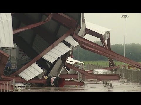 George Spankmeister - Severe Weather Damages Lucas Oil Speedway