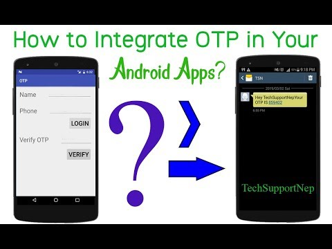 How To Send OTP SMS For Free Using Android?[With Source Code]