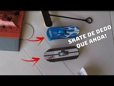 O SKATE DE DEDO QUE ANDA SOZINHO!