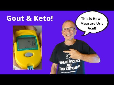 Gout & Keto: This Is How I Measure Uric Acid!