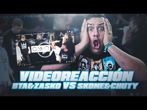 Chuty y Skone vs Zasko y BTA | ¿LA MEJOR BATALLA POR PAREJAS? | Video Reaccion | 2017
