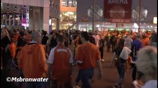 oranje supporters Bij De johan cruijff arena Nederland -duitsland 3-0 (nation league)