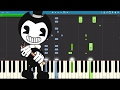 Bendy And The Ink Machine Song Bend You Till You Break TryHardNinja Piano Cover Tutorial mp3