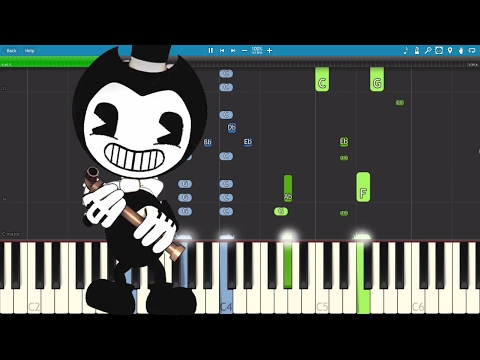 Bendy And The Ink Machine Song - Bend You Till You Break - TryHardNinja - Piano