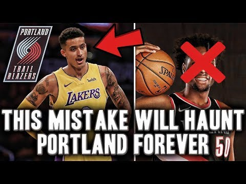 The Mistake That Will Haunt The Portland Trail Blazers Forever   Kyle Kuzma Taken One Pick After