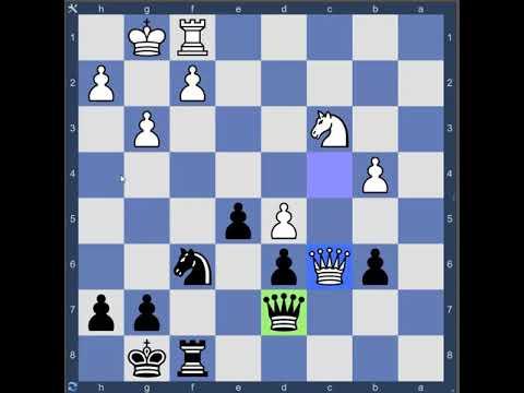 Solving chess tactics 01