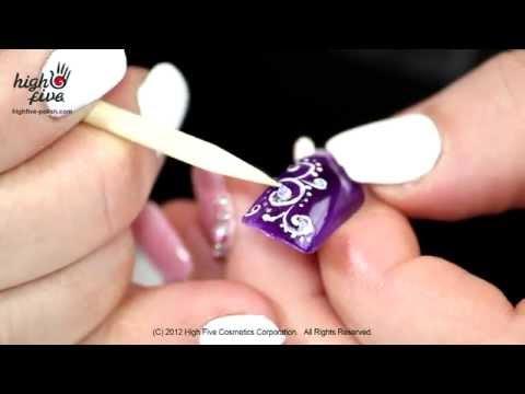 Мастер класс по рисованию гелями на ногтях