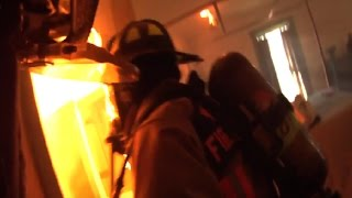 Structure Fire With Clear Footage of Entire Attic Lit Off!  02/26/2017