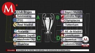 Así quedaron los grupos de la UEFA Champions League 2019-2020