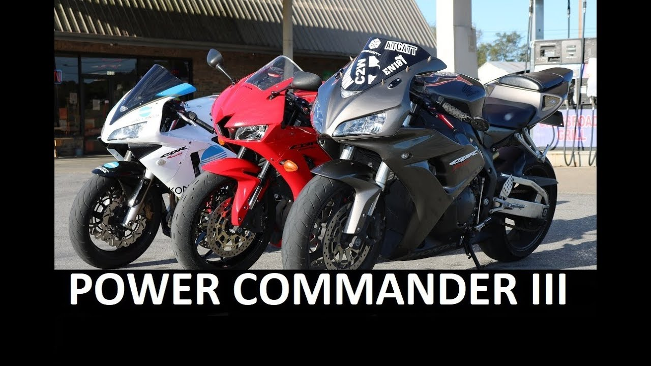 How To Tune A Power Commander 3 Youtube