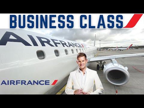 Air France   Business Class   Embraer 190   🇩🇰Copenhagen CPH✈️ 🇫🇷 Paris CDG  [FULL FLIGHT REPORT]