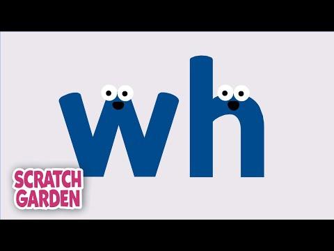 Phonics Video: The WH Sound | Scratch Garden
