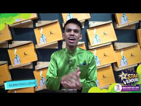 "Elrah Exclusive ""STAR VENDORS MEGA RAYA FEST 2019"" from YouTube · Duration:  17 seconds"