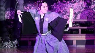 橘菊太郎劇団「忠臣蔵」2015.8.18 浪曲とのコラボ 画像提供=キットさん.