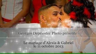 Mariage de Fifi et Toto à Sainte Rose le 11 octobre 2013