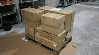 Самая большая распаковка РУНЕТА!! 'Секретный гараж'- посылка с инструментами.
