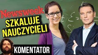 Nauczyciele Zarabiają Krocie? Kłamstwo Newsweek? Wsparcie PIS w Strajku Analiza Komentator Pieniądze