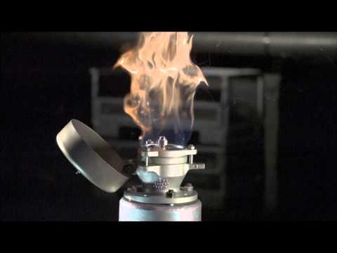 PROTEGO® Deflagration Flame Arrester - Endurance Burn Demonstration