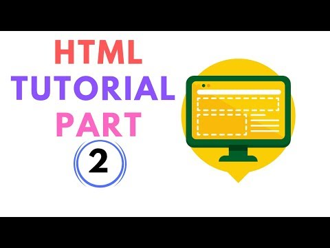 HTML basic tutorial Part 2 thumbnail
